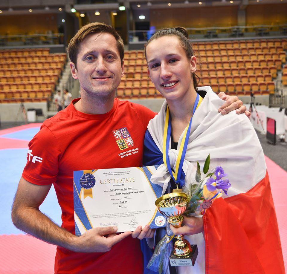 Mistryně Evropy do 21 let Petra Štolbová dělala rozhovor do Olympijského magazínu