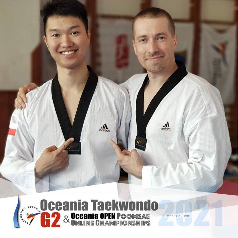 Medailové žně na Oceania Taekwondo G2 Poomsae Online Championships
