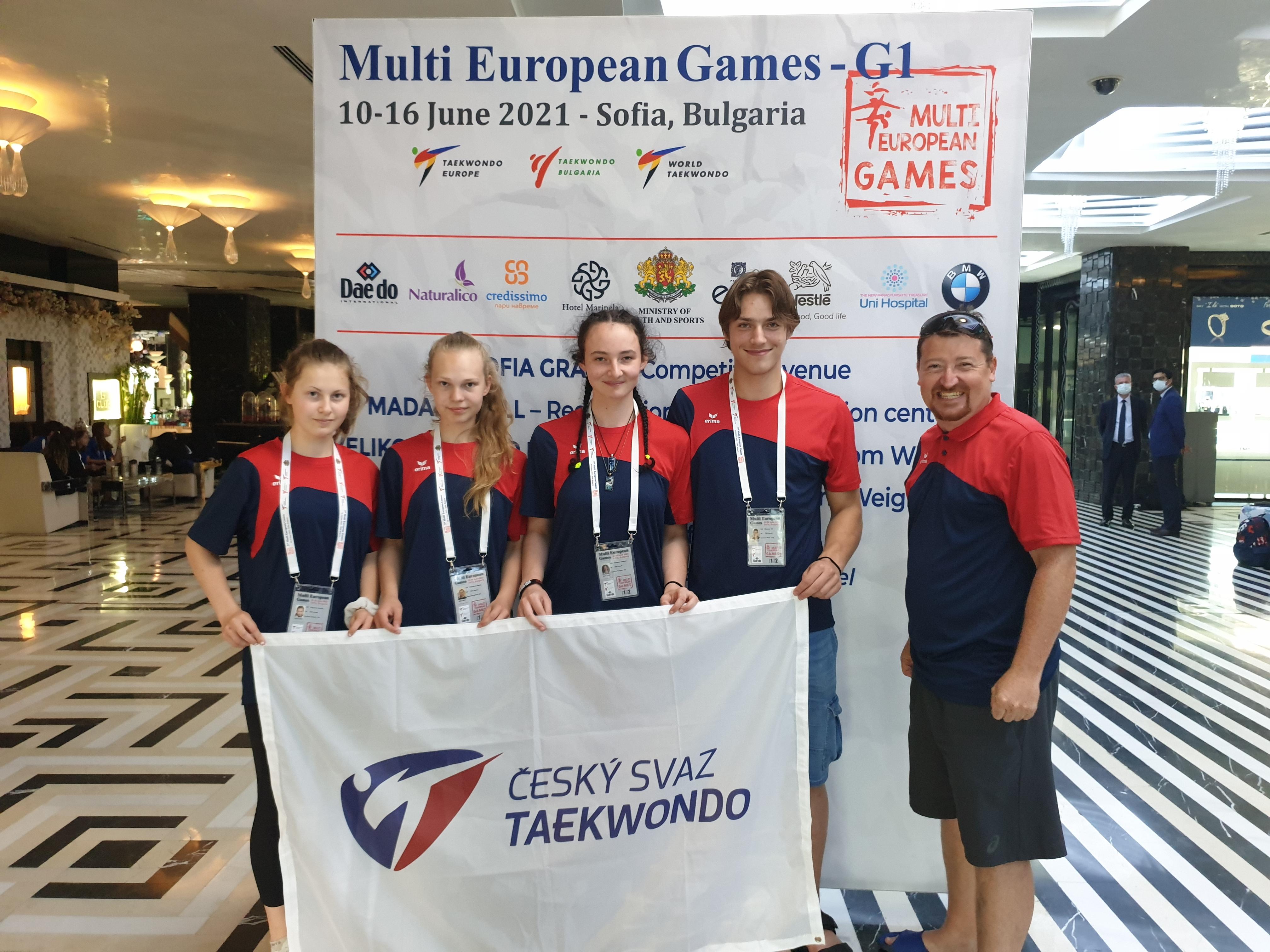 Stříbro na Multi European Games
