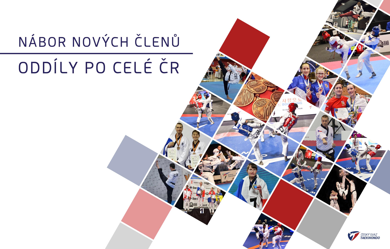 Nábor nových členů do klubů po celé ČR