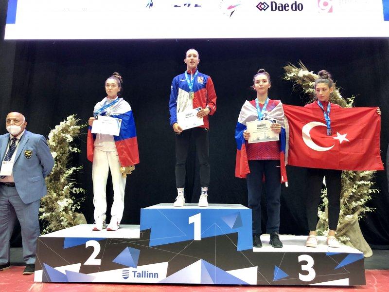 Petra Štolbová obhájila zlatou medaili na Mistrovství Evropy do 21 let!