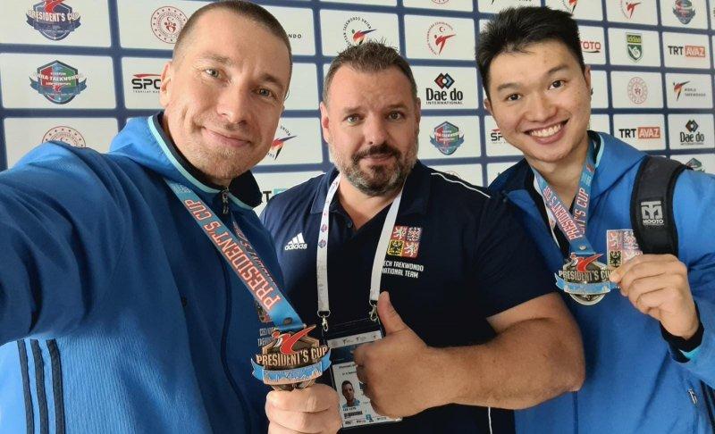 Stříbro a bronz z WT President's Cup Europe 2021 v Turecku